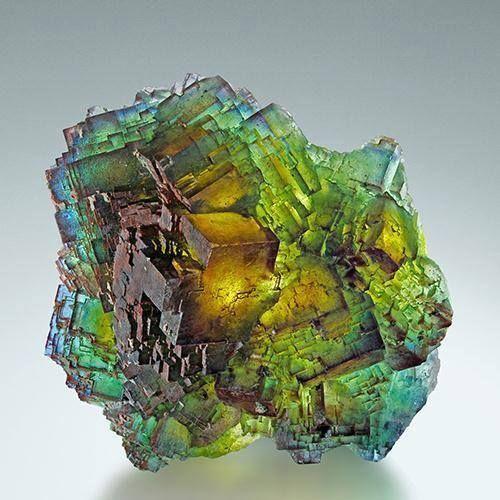 Fluorite - Saxony, Germany - Courtesy Martin Gruel, Viamineralia