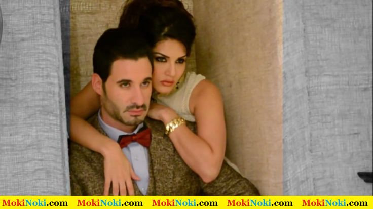 Sunny Leone with Daniel Weber On Mandate Magazine Cover January 2015 Issue 6