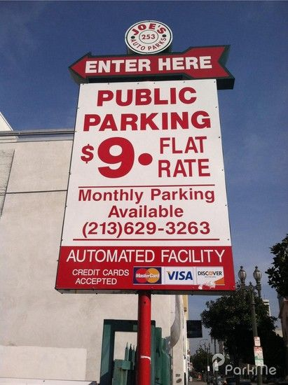 Our monthly parking services have two convenient monthly payment options at most locations. Reserve your parking spot near Downtown LA in advance to save time and money when you park.  For more details visit: http://joesautoparks.com/monthly-parking/