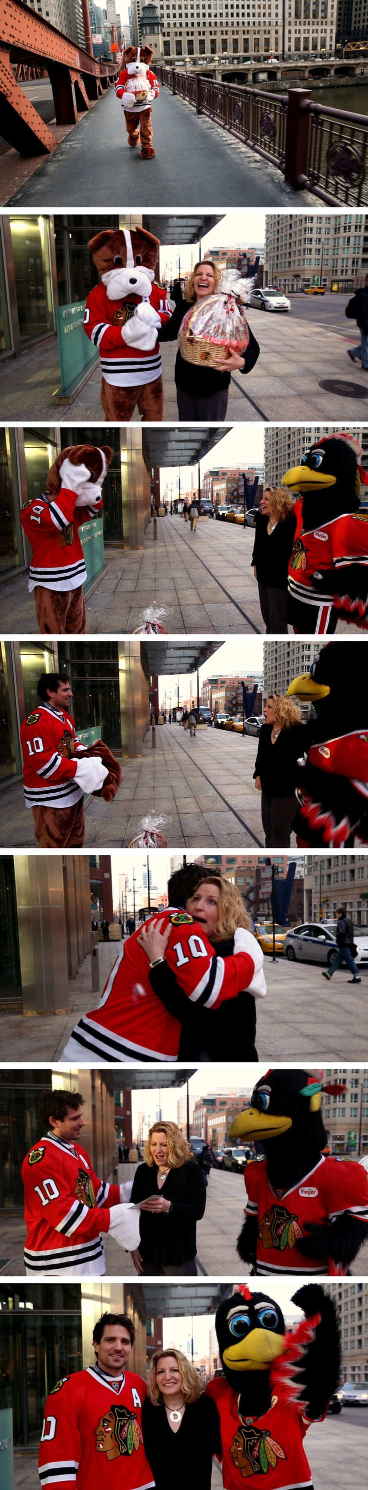 This just goes to show that Anything's Possible! Really... ANYTHING! Happy Valentine's Day, #Blackhawks fans.
