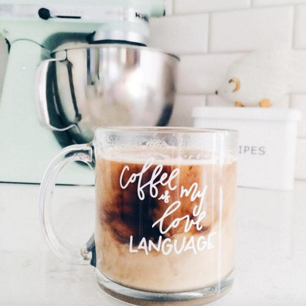 Home accessory: cup mug quote on it hipster kitchen gift ideas coffee