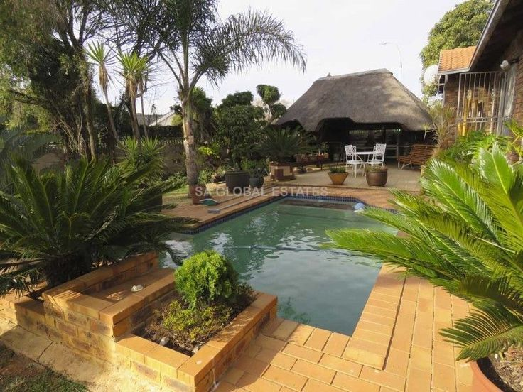 Birchleigh - North   Kempton ParkEntertainers dream home!When entering this IMMACULATE, Low Maintenance Facebrick Home, you can't help but notice the Lovely Spacious Lounge overlooking the stunning Entertainment Area that prides itself with a Large Lapa with Built-in Braai, Solar Heated Sparkling Pool all set in a striking Landscaped Garden.This beautiful Home offers you a Cheery entrance that leads to Spacious Reception rooms that includes the Lounge, Dining room and separate Family room…
