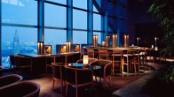 Cocktails at Park Hyatt -  The Peak Bar Twilight Time 5-9PM