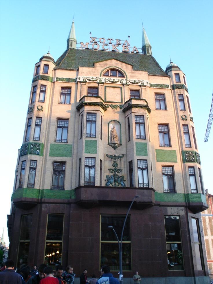 Hotel Moscow, Belgrade, Serbia
