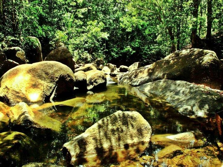 River in Batu Mentas, Belitung