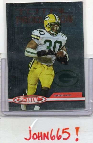 AHMAN GREEN - 2004 TOPPS TOTAL PRODUCTION #TPL - MINT - GREEN BAY PACKERS - FREE S/H