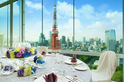 ザ・プリンス パークタワー東京(The Prince Park Tower Tokyo) この景色はゲストへのサプライズ