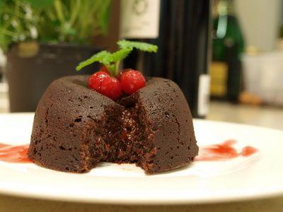 Csokoládé szufflé