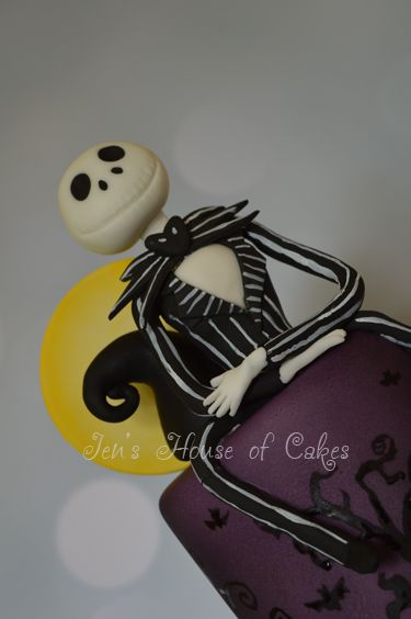 Nightmare Before Christmas - Jack Skellington Handmade Figure