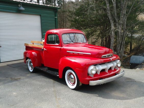 1951 Ford F1: