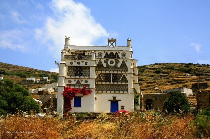 Pigeon House, Triandaros, Tinos Island Greece