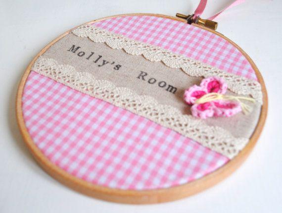 Custom Personalised Girls Bedroom Room Name by LolasLittlePalace, £20.00
