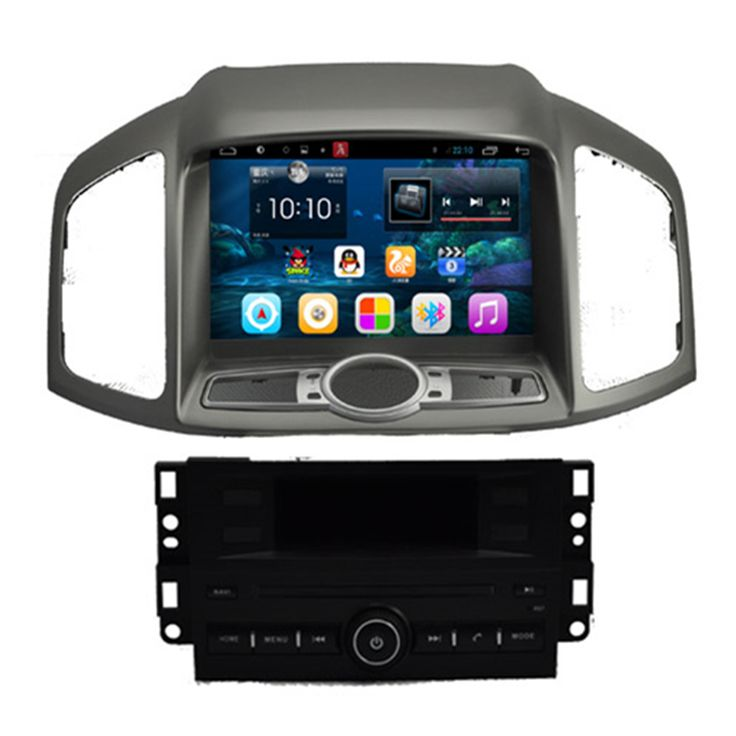 "8"" Quad Core Android 4.4 1024X600 Car Radio DVD GPS Navigation Central Multimedia for Chevrolet Captiva Chevy 2011 2012 2013"