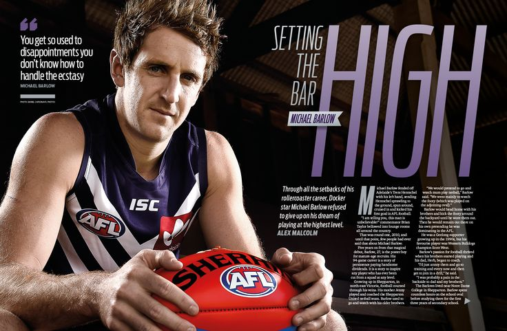 AFL Record Round 6 | Michael Barlow Feature