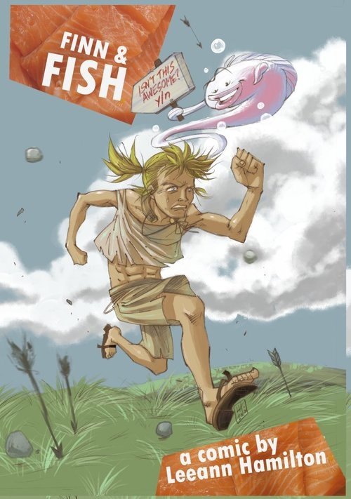 A cover for Finn and Fish by Leeann Hamilton, who's on this new episode of the podcast talking about geeky things and her comics http://www.nerdsassemble.co.uk/post/52700313759/nerds-assemble-episode-43-geeking-out-with-leeann