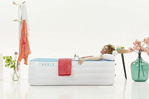Tubble Baignoire Gonflable Taille Adulte Spa Maison Portable - 215 litres Tubble http://www.amazon.fr/dp/B00W461ZS4/ref=cm_sw_r_pi_dp_kkpKwb19RFM9V