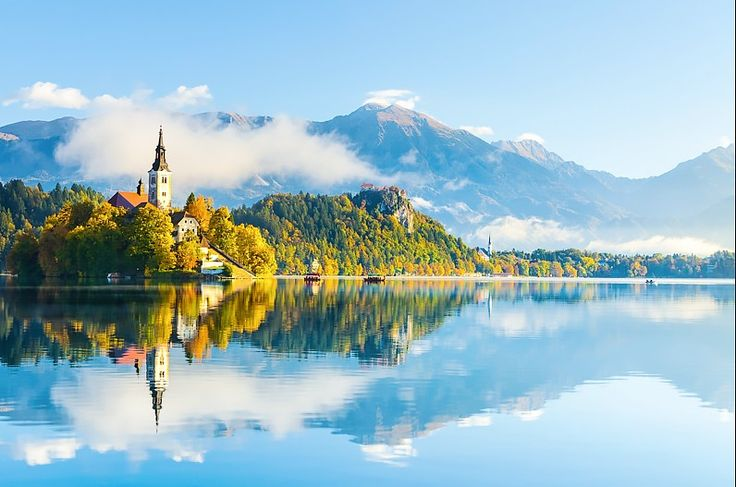 Lake Bled - Slovenia  These Destinations Aren't on Your Bucket List—but They Should Be via @MyDomaine
