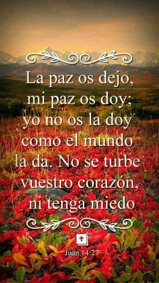 La paz de Dios Posted on PRAYER fb page Aug 6, 2017