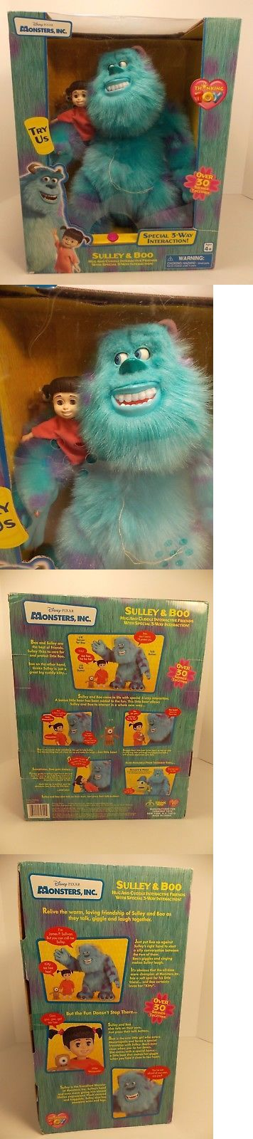 Monsters Inc 44038: New Sealed Monsters Inc Sulley And Boo Electronic Talking Interactive Toys Pixar -> BUY IT NOW ONLY: $99.99 on eBay!