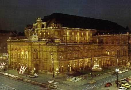 Staatsoper Wenen - hier heb ik op de bühne gestaan!