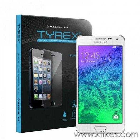 Tyrex Tempered Glass Samsung Galaxy Alpha - Rp 235.000 - kitkes.com