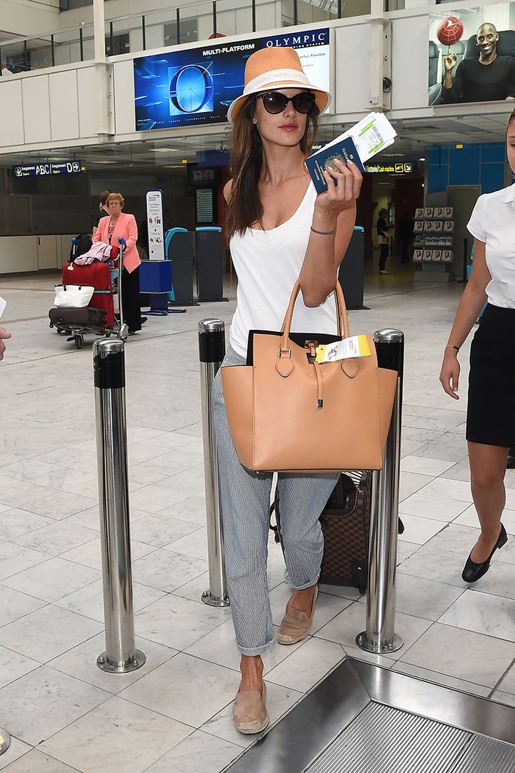 best images about airport fashion kim kardashian alessandra ambrosio does laid back elegance at the airport