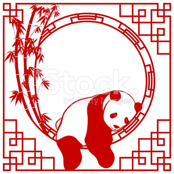 Panda Art Frame China Panda Art Chinese Paper Cutting
