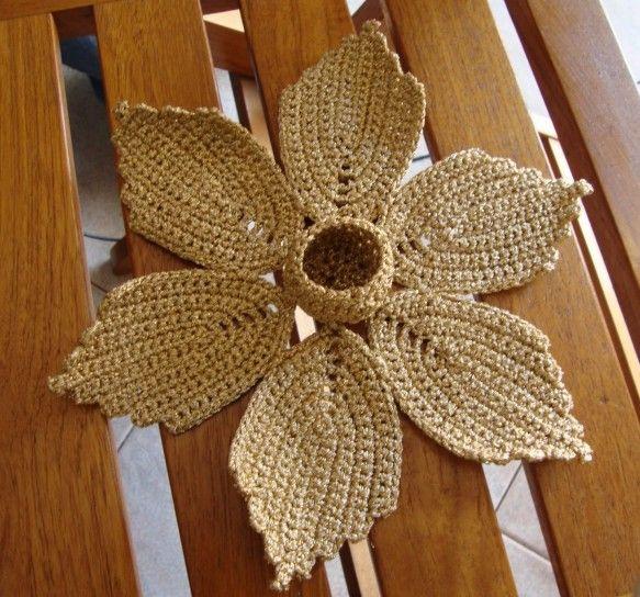 Uncinetto fiori: lo schema