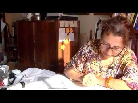 Cam Altı Resim Sanatı - Rabia Figen Günay - Çağa Direnen Ustalar (TRT)