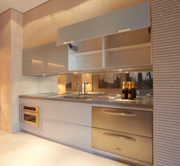 Cozinha clean e elegante