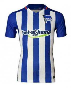 2015-16 Season Hertha BSC Home Soccer Jersey [D449]