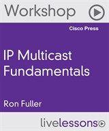 Just released for pre-order: #IP Multicast Fundamentals LiveLessons (Workshop) #WORKSHOP