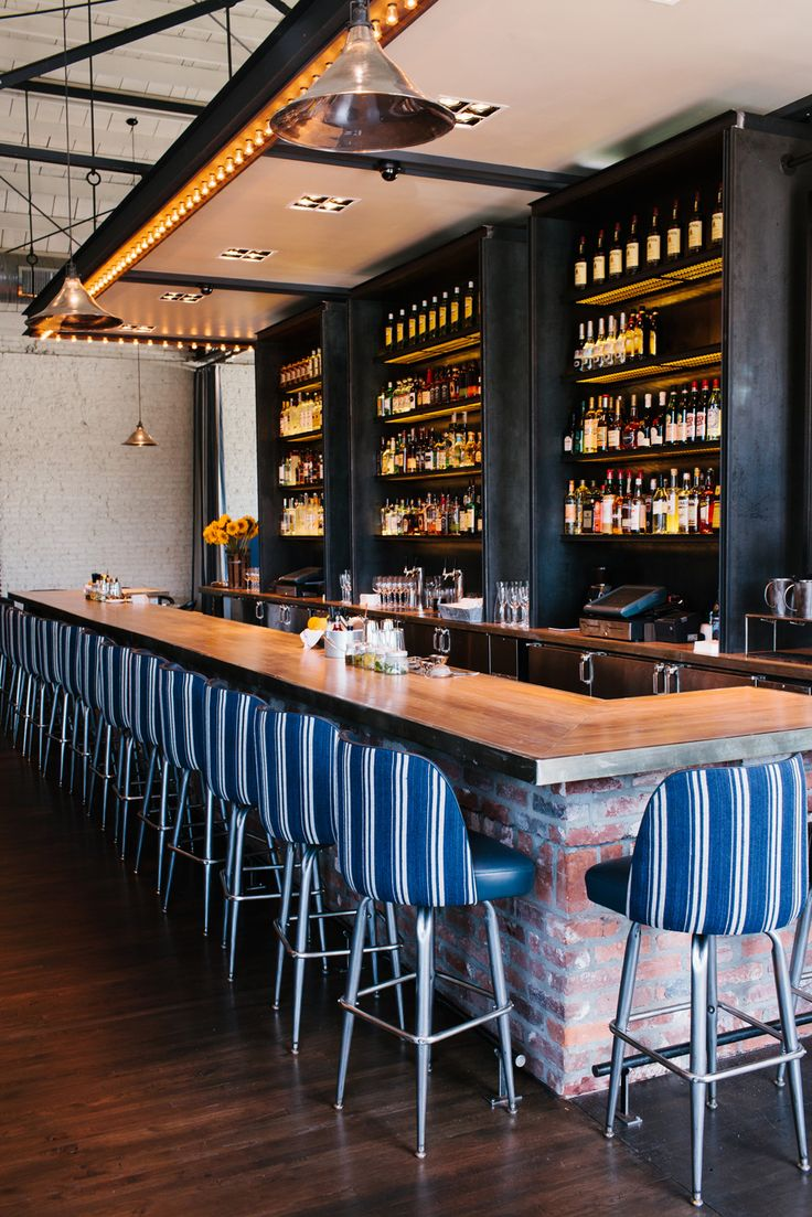 The Optimist | Smith Hanes. restaurant bar