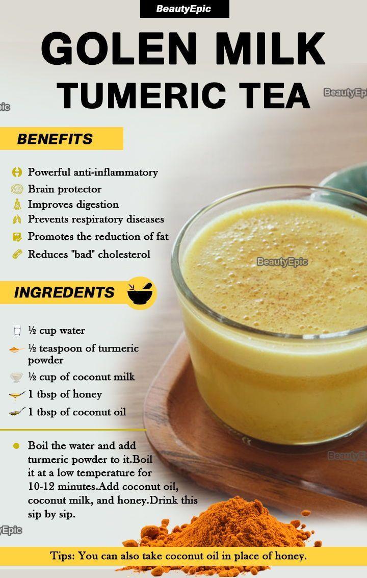 Turmeric tea: Preparation,Benefits and Recipes
