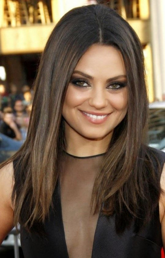 Brown hair colors for fall 2017 – trend-hairstyles…. #Hairstyles #Haircuts #pr…