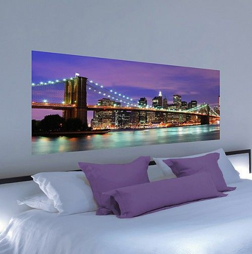 83 best new york bedroom images on pinterest cities for City themed bedroom ideas