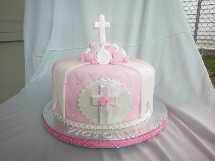 Confirmation Cakes for Girls | Communion Cake