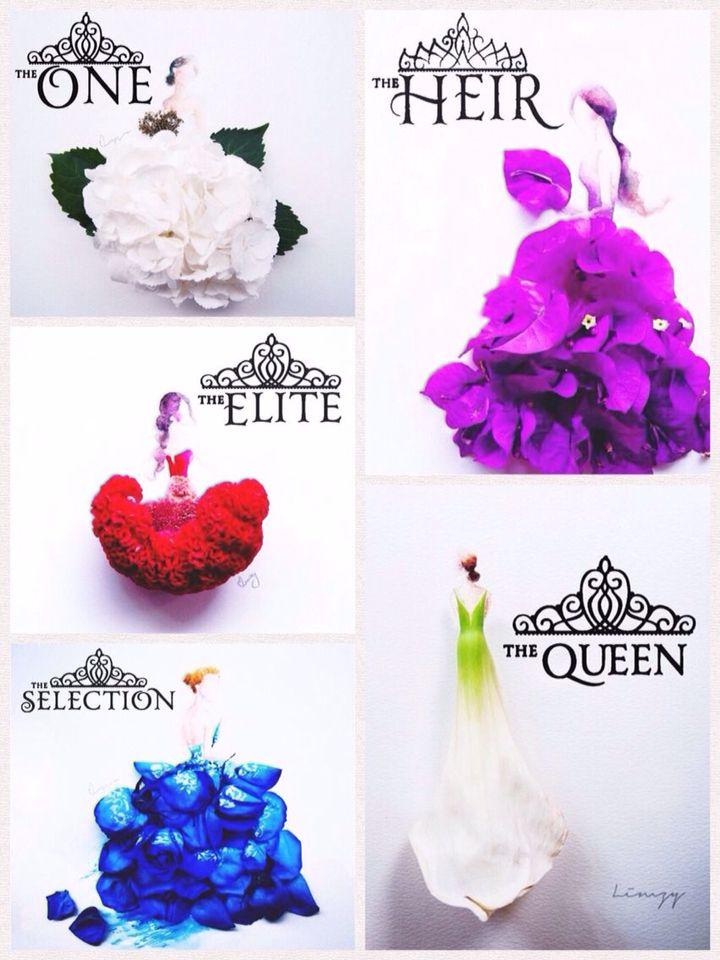 Saga la selección en flores