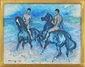 A kék lovas