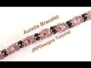 Aurelia Bracelet - Beginner Tutorial Left hand - YouTube
