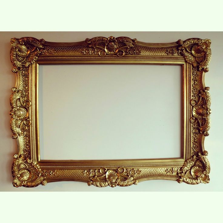 French Renaissance Reproduction Frame via BRIANCEAU COUTURE. Click on the image to see more! #chic #frame #frenchrenaissance #homedecor