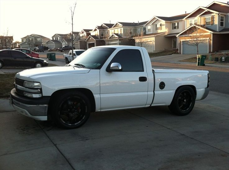 Chevy Silverado Single Cab Lowered Google Search My