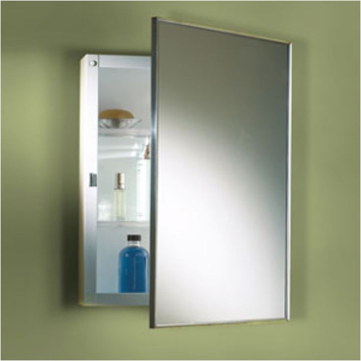 Recessed Mirror Cabinet Tags Bathroom Medicine Cabinets From Wall