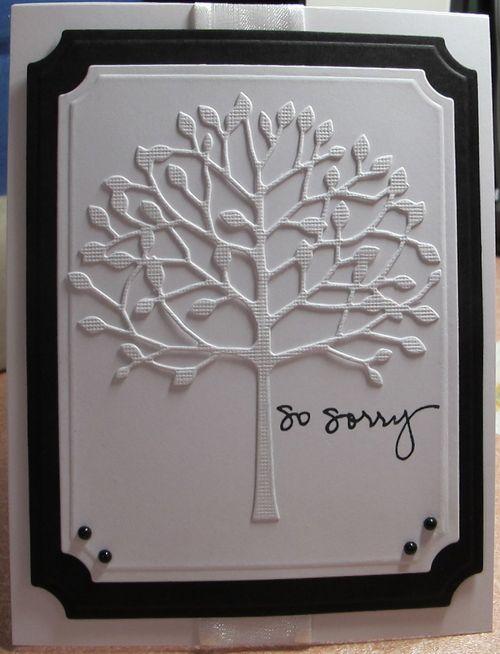 tree / sympathy card