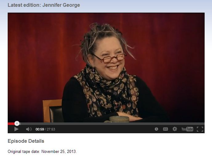 The author of THE ART OF RUBE GOLDBERG, Jennifer George, appears on CUNY's celebrated TV show, Eldridge and Co., to discuss her grandfather, his work, and the new book. http://www.cuny.tv/show/eldridgeandco