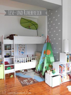Kinderhochbett für zwei  110 best Kinderzimmer images on Pinterest | Kidsroom, Nursery and ...