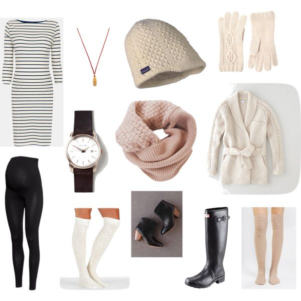 winter maternity photo shoot outfit option with dress and leggings
