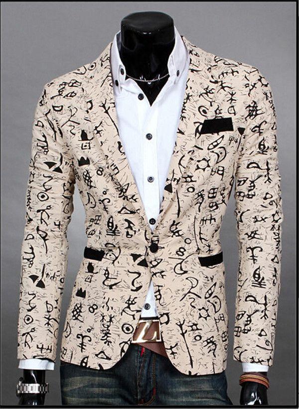 2015 Top Suit Jacket For Men Terno Masculino Suit Blazers Jackets Traje Hombre Men s Casual. Click visit to buy