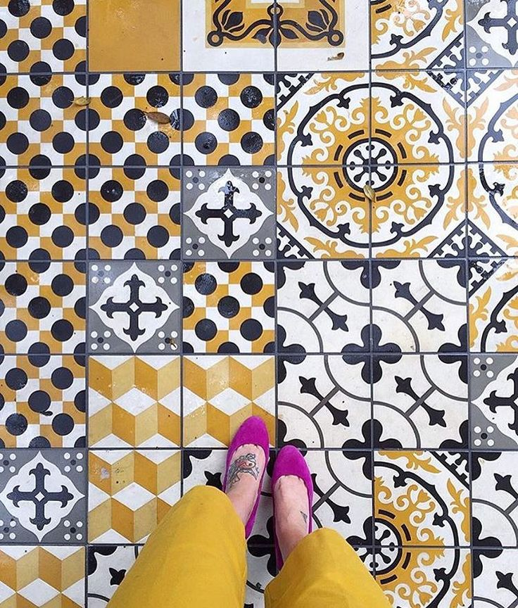 These 20 Stylish Kitchen Designs Will Inspire You To Redesign Yours: 268 Best Encaustic Tile Inspiration Images On Pinterest