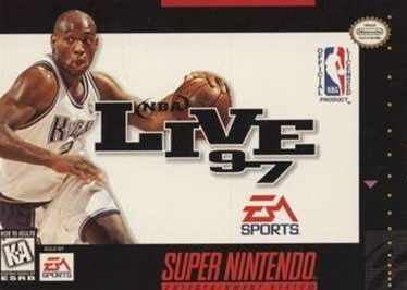 Complete NBA Live 97 - SNES